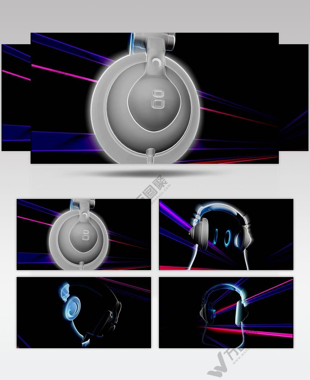 音乐喇叭 dj_headphones_2_hd 酒吧视频 dj舞曲 夜店视频 酒吧音乐喇叭