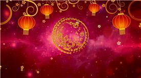 PR:新年新春春节金色粒子年会开场pr模板 新年节日pr素材