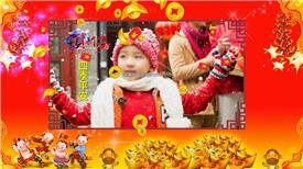 PR:新年新春2018恭贺新春送祝福视频pr模板 新年节日pr素材