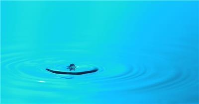 雨水滴流水水面水素材26