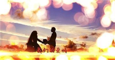 pr170美丽光斑婚礼婚庆预告片展示Pr模板