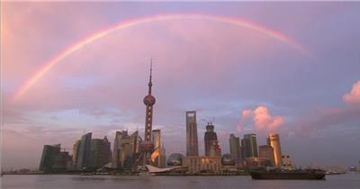 上海东方明珠彩虹上海高清宣传片上海各种高清实拍素材系列城市实拍视频 城市宣传片