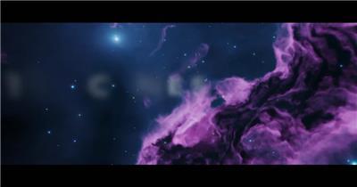 AE:宇宙太空星云文字宣传片头ae特效素材下载网站