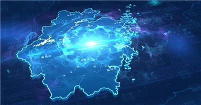 浙江省地图位置锁定区位