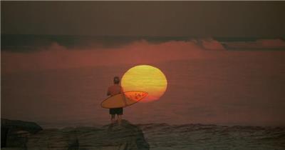 自然景观类海边太阳_batch中国高清实拍素材宣传片