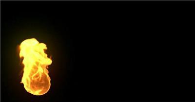 火焰烧火Movie_00_(waving_torch) LED动态视频背景大全