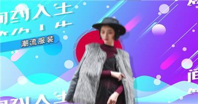 时尚大气服装产品展示AE模板4K