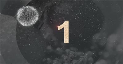 AE:钟表烟花新年倒计时动画片头ae特效素材下载网站