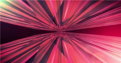 Pr模板 酷炫紫色几何空间穿梭动感舞台通用背景