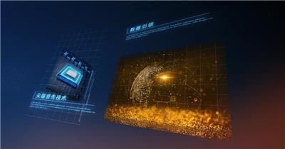 震撼科技企业宣传AE模板