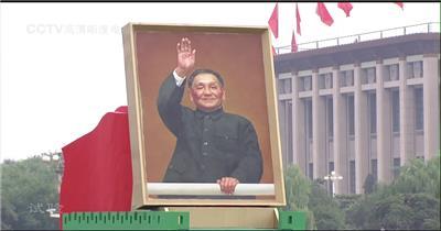 国庆周年年阅兵-国庆50周年1999年阅兵群众游行1_batch中国高清实拍素材宣传片