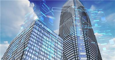 数字城市科技片头AE模板