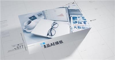 商务图文宣传片AE模板