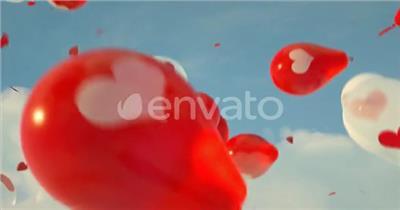 AE:情人节贺卡ae特效素材下载网站节日活动