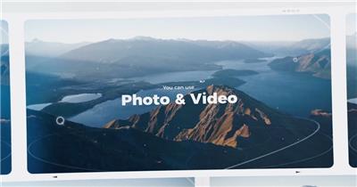 AE:旅游回忆照片相册片头ae特效素材下载网站