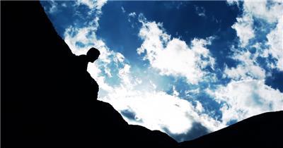 攀岩 不断前进 坚持不懈 (2)宣传片通用商务高清素材视频高清素材下载