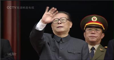 国庆周年年阅兵-国庆50周年1999年阅兵步兵方队_batch中国高清实拍素材宣传片