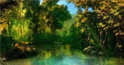 梦幻童话森林 款A00131梦幻童话森林无音乐