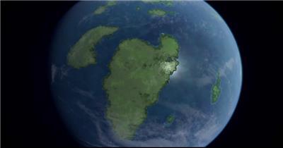 自然景观类地球_batch中国高清实拍素材宣传片