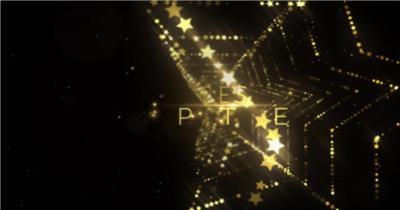 AE:时尚星状粒子颁奖文字标题片头ae特效素材下载网站