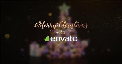 AE:圣诞新年片头00ae特效素材下载网站