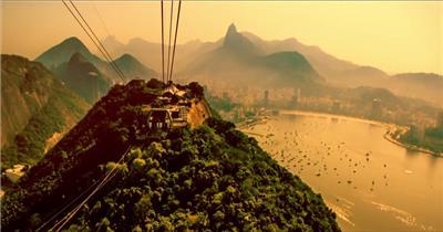里约时间 Time of Rio延时拍摄高清视频素材延时实拍视频宣传片视频