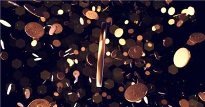 AE:金币标志动画ae特效素材下载网站
