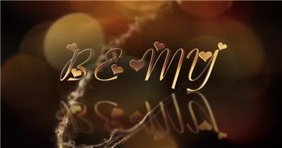 高贵雅金妇女节宣传视频模板