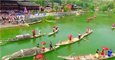 重庆风景旅游风光视频中国名胜风景标志性景点高清视频素材