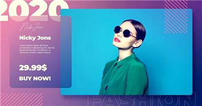 AE:时尚服装商品展示ae特效素材下载网站