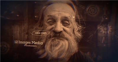 AE:回忆礼视时间线展示片头ae特效素材下载网站