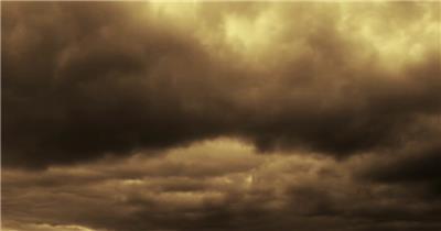 阴沉的天空背景素材中国名胜风景标志性景点高清视频素材