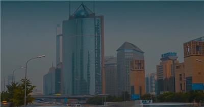 实拍北京人文景观宣传视频