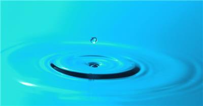 雨水滴流水水面水素材23