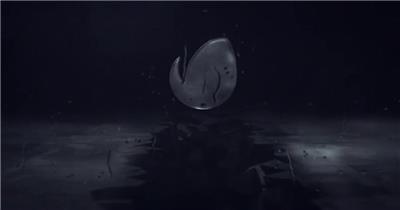 AE:雷雨交加标志片头ae特效素材下载网站