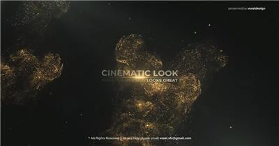 AE:梦幻粒子文字片头ae特效素材下载网站