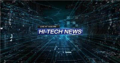 AE:科技新闻栏目包ae特效素材下载网站