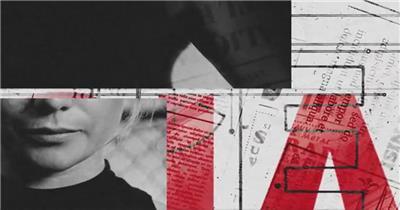 AE:杂渍风格标志展示ae特效素材下载网站