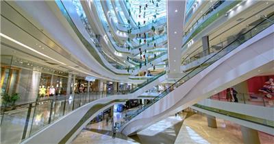 时尚大型购物商场