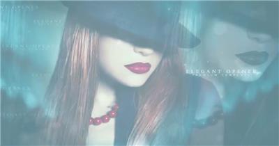 AE:梦幻时尚视频展示ae特效素材下载网站