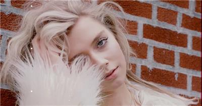 Pr模板 Premiere分屏画面效果视频模板 时尚模特街拍服装包包展示短视频PR模板 图文模板