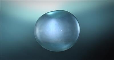 雨水滴流水水面水素材37