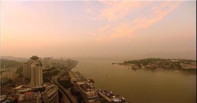 厦门视频中国名胜风景标志性景点高清视频素材