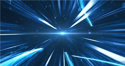 超震撼光线科技片头模板
