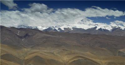西藏雪山3中国名胜风景标志性景点高清视频素材