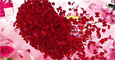 玫瑰心飘散欢度妇女节视频片头