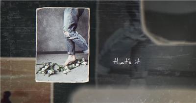 AE:浪漫爱情婚礼回忆照片相册片头ae特效素材下载网站