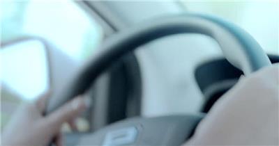未来科技智能化电动汽车展现星球光束渲染汽车宣传高清视频实拍