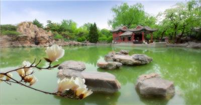 唯美大气北京城市风光高清视频