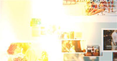 AE:美好回忆照片相册片头ae特效素材下载网站